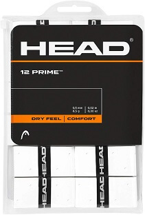 Overgrip Head Prime Blanco Pack 12 overgrips