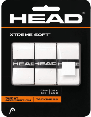 Overgrip Head Xtremesoft Blanco - Pack x3 Overgrips