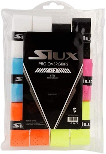 Overgrip Siux Pro Feel Perforado x12 varios colores